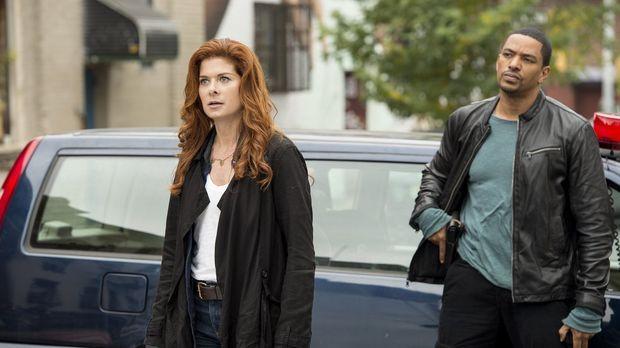 Ein neuer Fall beschäftigt Billy (Laz Alonso, r.) und Laura (Debra Messing, l...