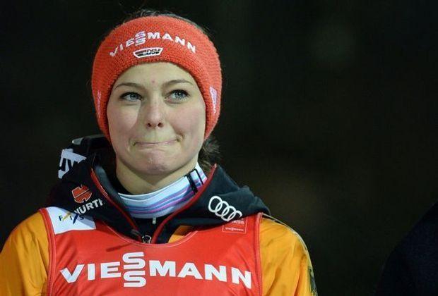 Platz fünf für Carina Vogt in Sapporo