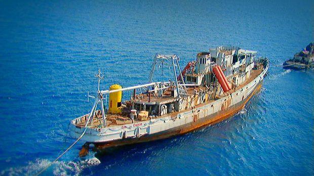 Mission Schwertransport - Riff im Schlepptau © Kabel 1