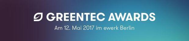GreenTec Awards Banner Gala 2017