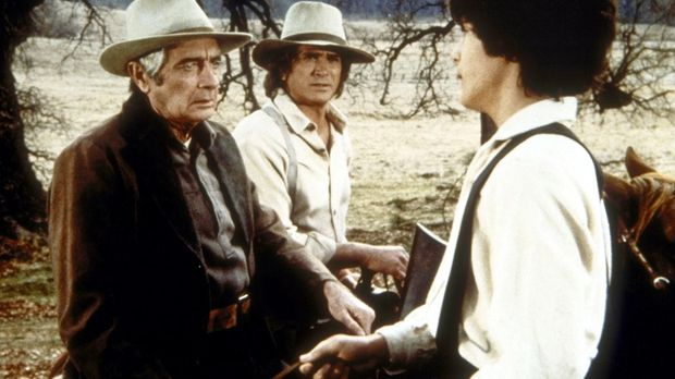 Albert Ingalls (Matthew Laborteaux, r.) belügt seinen Vater Charles (Michael...