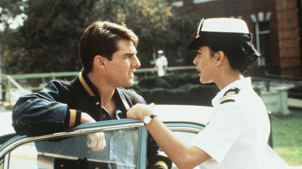 Während Lt. Kaffees (Tom Cruise, l.) Engagement zu wünschen übrig lässt, ist...