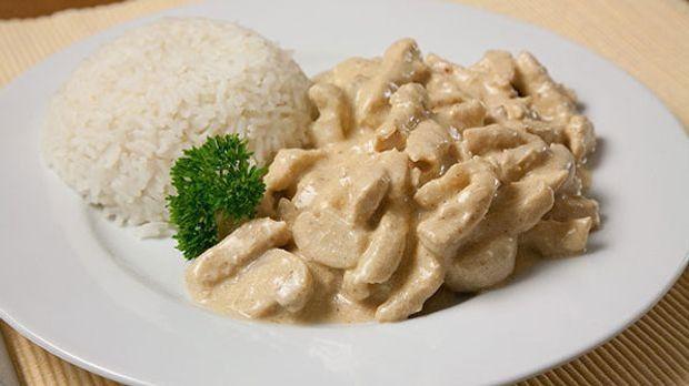 Leckere Hausmannskost: Züricher Geschnetzeltes mit Reis oder Spätzle
