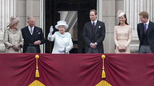 Für die königliche Familie war 2012 ein bedeutendes Jahr: Königin Elisabeth I...