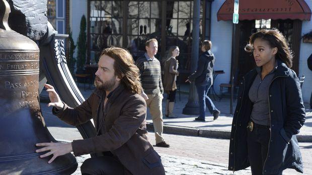 Werden Ichabod (Tom Mison, l.) und Abbie (Nicole Beharie, r.) rechtzeitig erk...