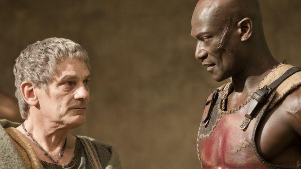 Um die Rangfolge unter seinen Gladiatoren festlegen zu können, ordnet Titus B...
