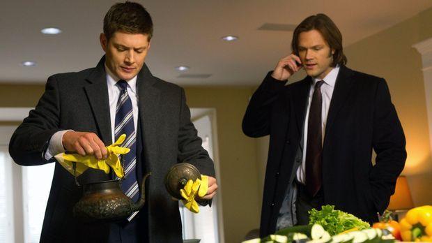 Ein neuer mysteriöser Fall wartet auf Sam (Jared Padalecki, r.) und Dean (Jen...