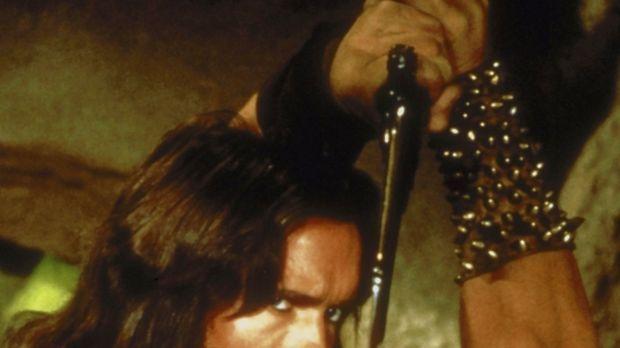 Mit allen Mitteln versucht Conan (Arnold Schwarzenegger), seinen Erzfeind Thu...