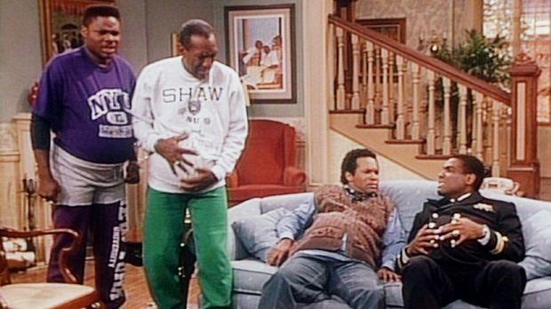 Cliff träumt, dass alle Männer in der Familie schwanger werden: (v.l.n.r.) Th...