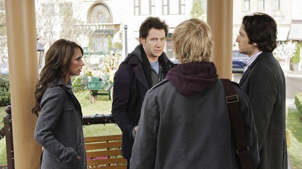 Melinda (Jennifer Love Hewitt, l.), Eli (Jamie Kennedy, 2.v.l.), Ned (Christo...