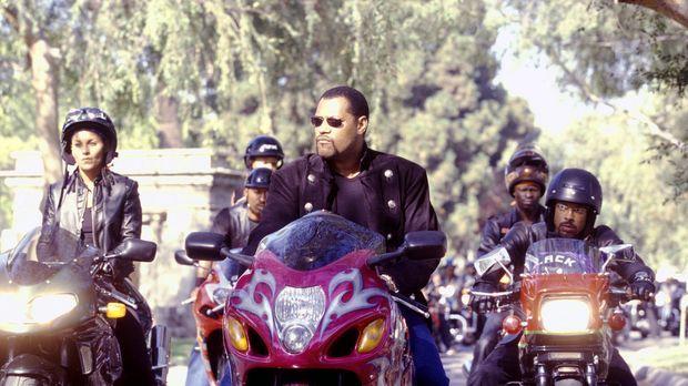 Das Wochenende gehört den illegalen Motorradrennen: (v.l.n.r.) Half & Half (S...