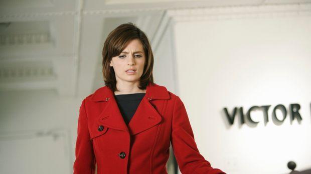 Vom Anblick, der sich ihr am Tatort bietet, ist Kate (Stana Katic) entsetzt ....