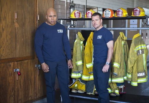 Navy CIS: L.A. - Bei ihrem neuen Fall müssen sich Sam (LL Cool J, l.) und Cal...
