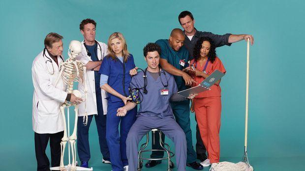 (2. Staffel) - Die Truppe vom Sacred Heart Hospital: J.D. (Zach Braff, M.), T...