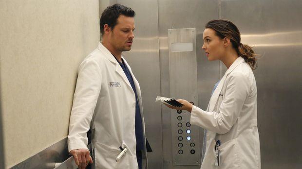 Während im Krankenhaus die Grippe ausbricht, versuchen Alex (Justin Chambers,...