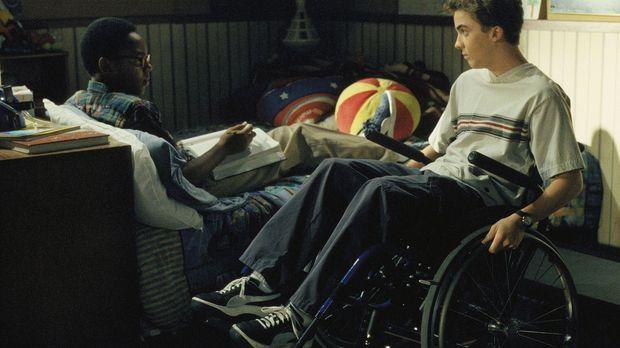Immer wieder versucht Malcolm (Frankie Muniz, r.) seinem Freund Stevie (Craig...