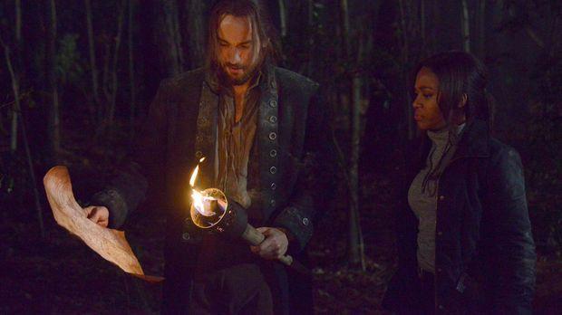 Der Kampf gegen das Böse geht weiter: Ichabod Crane (Tom Mison, l.) und Abbie...
