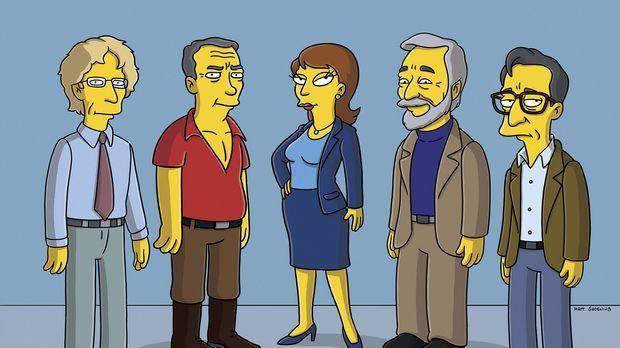 Selig sind die Dummen: Andy Dick (l.), James Patterson (2.v.l.), Dr. Swanson...