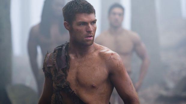 Begibt sich auf ein Himmelfahrtskommando: Spartacus (Liam McIntyre) ... © 201...