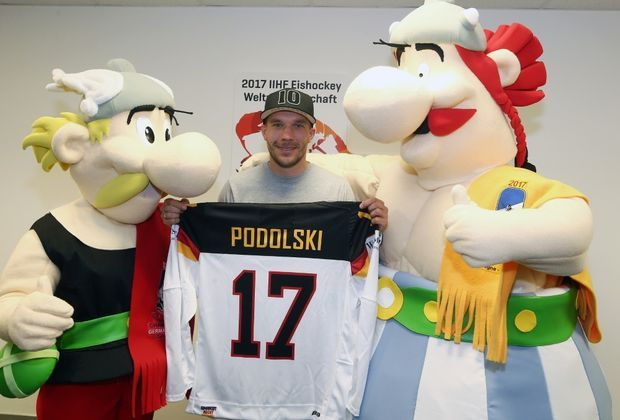 Botschafter der Eishockey-WM: Lukas Podolski