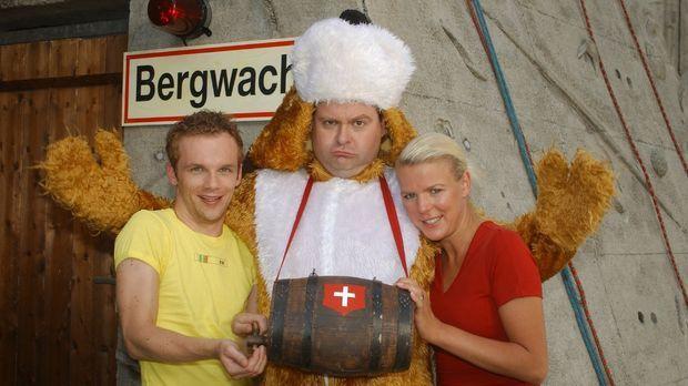 Ralf (Ralf Schmitz, l.), Markus (Markus Majowski, M.) und Mirja (Mirja Boes,...