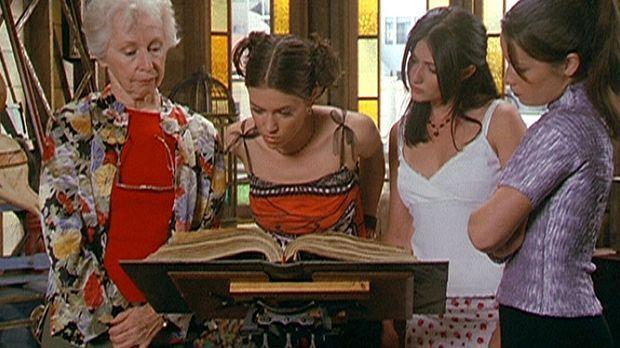 (v.l.n.r.) Tante Gail (Anne Haney) hat sich das Vertrauen der drei Halliwell-...