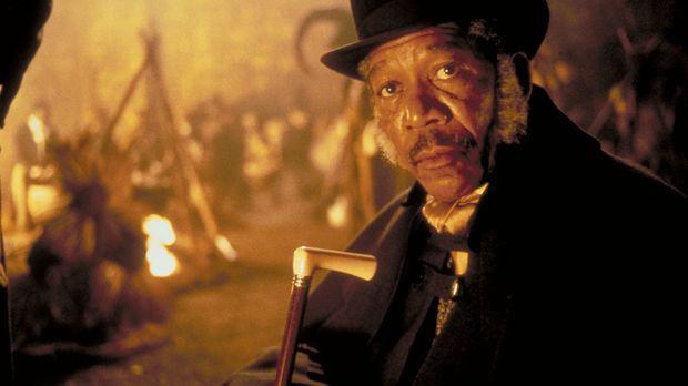 Der Anwalt Theodore Joadson (Morgan Freeman), der für die Abschaffung der Skl...