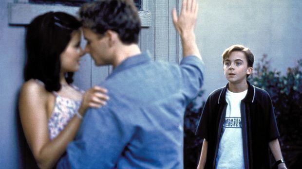 Malcolm (Frankie Muniz, r.) stört seinen Bruder Francis (Christopher Masterso...
