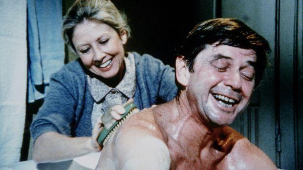 Olivia (Michael Learned, l.) und John (Ralph Waite, r.) bereiten sich auf ihr...