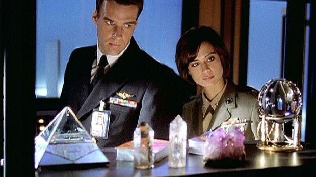 Mac (Catherine Bell) und Harm (David James Elliott) haben mit Esoterik nichts...