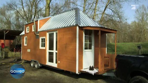 galileo video tiny house so werden die kleinen h user gebaut prosieben. Black Bedroom Furniture Sets. Home Design Ideas