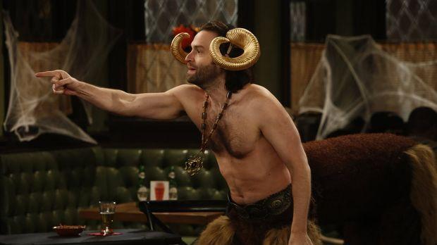 Hat ein ganz besonderes Halloween-Kostüm für sich entdeckt: Danny (Chris D'El...