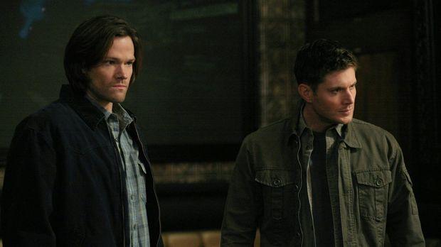 Als Sam (Jared Padalecki, l.) und Dean (Jensen Ackles, r.) zu Morden gerufen...