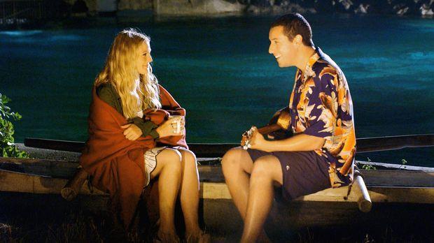 50 erste Dates - Obwohl auch Lucy (Drew Barrymore, l.) auf Henrys (Adam Sandl...
