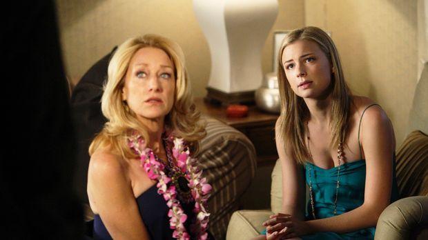 Ist die Hochzeit von Rebecca (Emily VanCamp, r.) und Justin tatsächlich gepla...