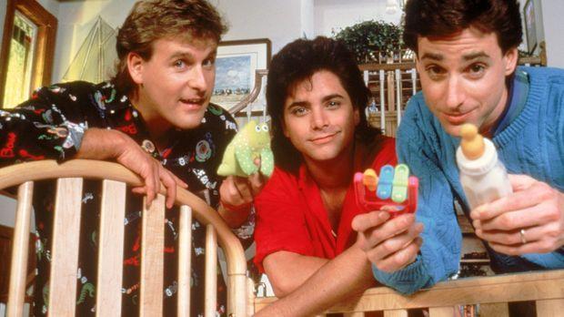 (1. Staffel) - Joseph 'Joey' Gladstone (Dave Coulier, l.), Jesse Cochran (Joh...