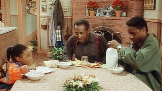 Wer hat Cliffs (Bill Cosby, M.) Orangensaft getrunken? Theo (Malcolm- Jamal W...