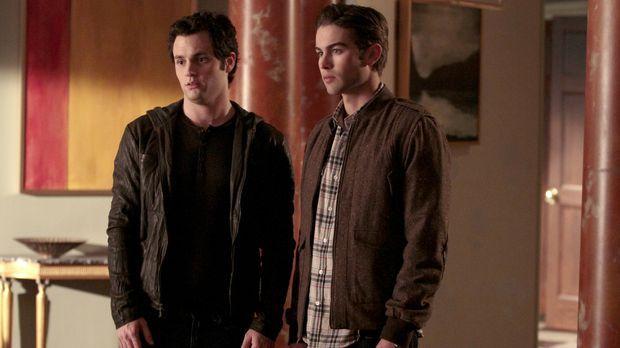 Nate (Chace Crawford, r.) und Dan (Penn Badgley, l.) wollen beweisen, dass Ru...