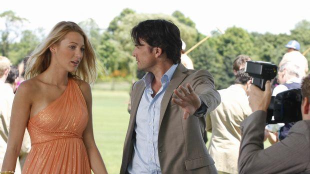 Obwohl Rufus (Matthew Settle, r.) den ganzen Rummel um Serenas (Blake Lively,...