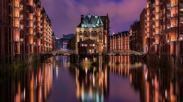 Hamburg-bei-Nacht