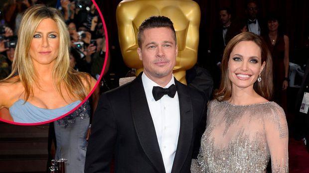 Angelina Jolie glücklich mit Brad Pitt: Hochzeit für Jennifer ...