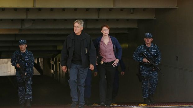 Ermitteln in einem neuen Fall: Gibbs (Mark Harmon, 2.v.l.) und Special Agent...