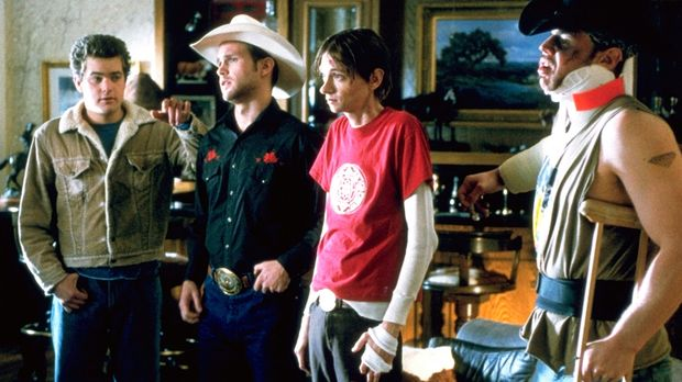 Immer wieder gerät Earl (Joshua Jackson, l.) wegen seiner Freunde Jimbo (Matt...