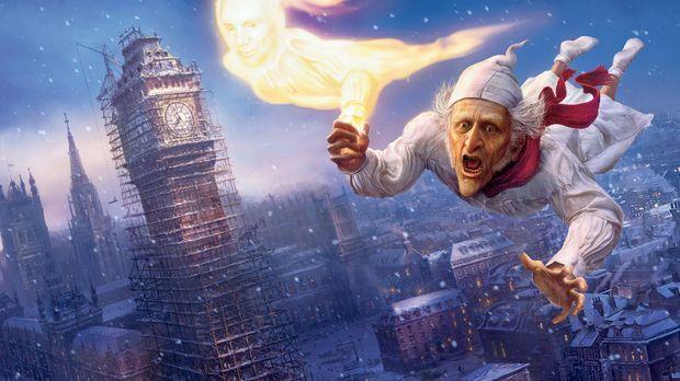 Das Weihnachtsfest ist für den eiskalten geizigen Geschäftsmann Ebenezer Scro...