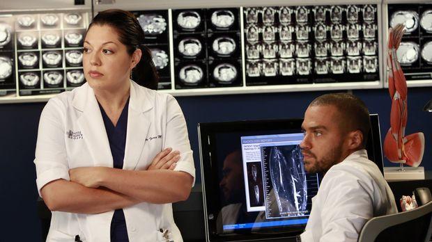 Während Cristina und Owen ihre Ehe endgültig beenden, versuchen Callie (Sara...