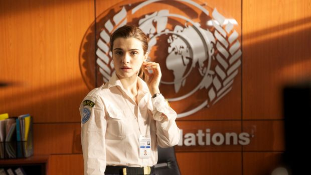 Die engagierte US-Polizistin Kathryn Bolkovac (Rachel Weisz) muss bei einem E...