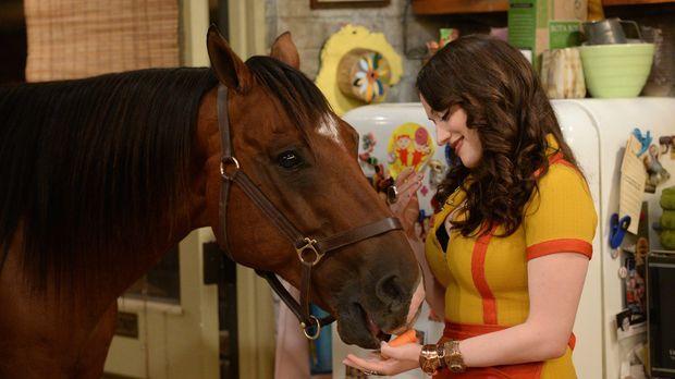Max (Kat Dennings) und Caroline stecken in der Bredouille: In ihrer Wohnung i...