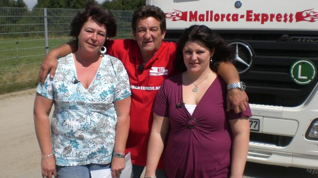 1000 Meilen südwärts: mit dem Bier-Truck nach Mallorca ... © SAT.1
