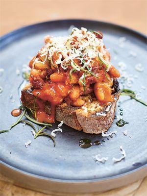 Jamies Wohlfühlküche: Bohnen auf Toast - Rezeptbild