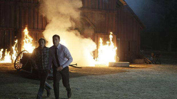 Dave Martin, Mitbesitzer einer Grundstücksfirma, kommt bei einem Brandanschla...
